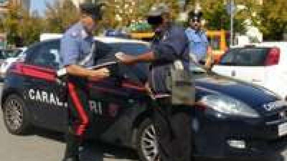 Rimini: carabinieri impegnati nel controllo parcheggiatori abusivi