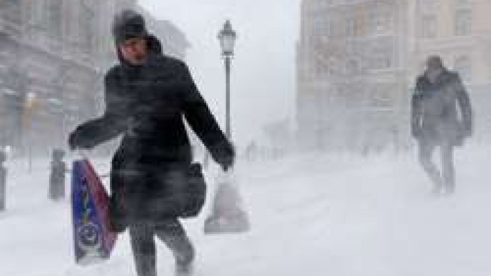 """Temperature gelide in UcrainaUcraina nella morsa del gelo e alle prese con la """"crisi del gas"""""""