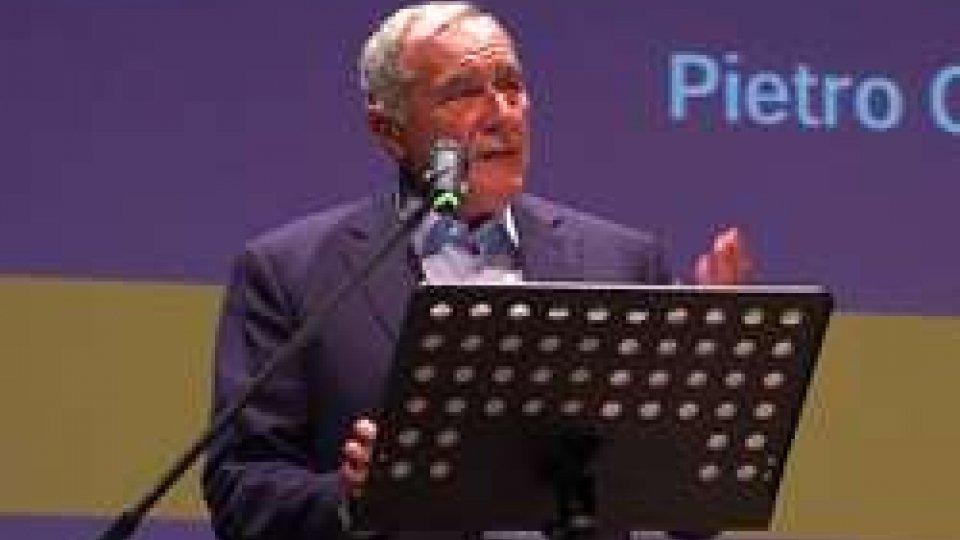 Pietro GrassoIl Presidente del Senato Pietro Grasso protagonista a Cesenatico alla Summer School dell'ex premier Letta