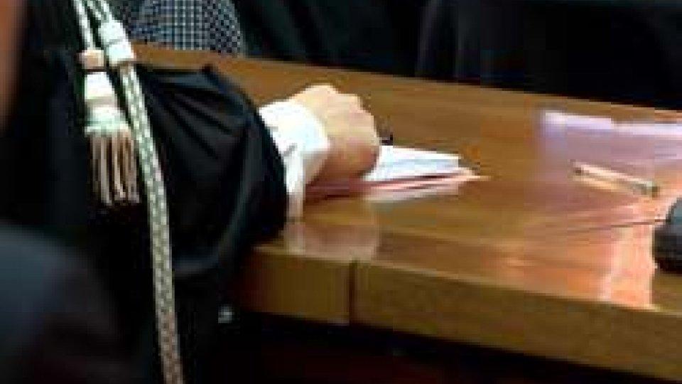 L'aula del processo Conto MazziniConto Mazzini: condannati tutti i politici ma ci sono state anche assoluzioni