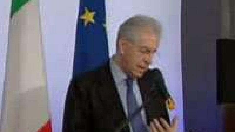 Monti premier con chi sostiene la sua agenda