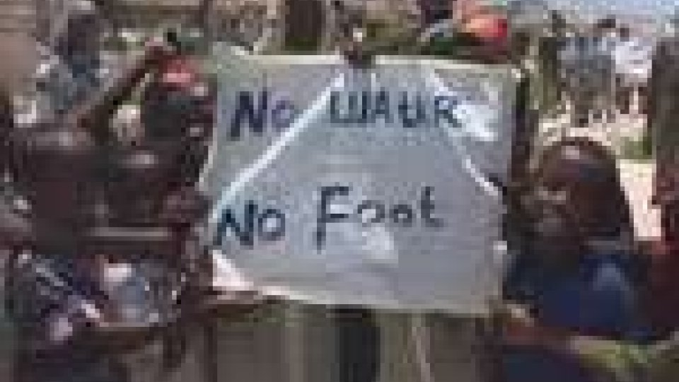 Somalia. Sfollati protestano contro la mancanza di cibo e acqua