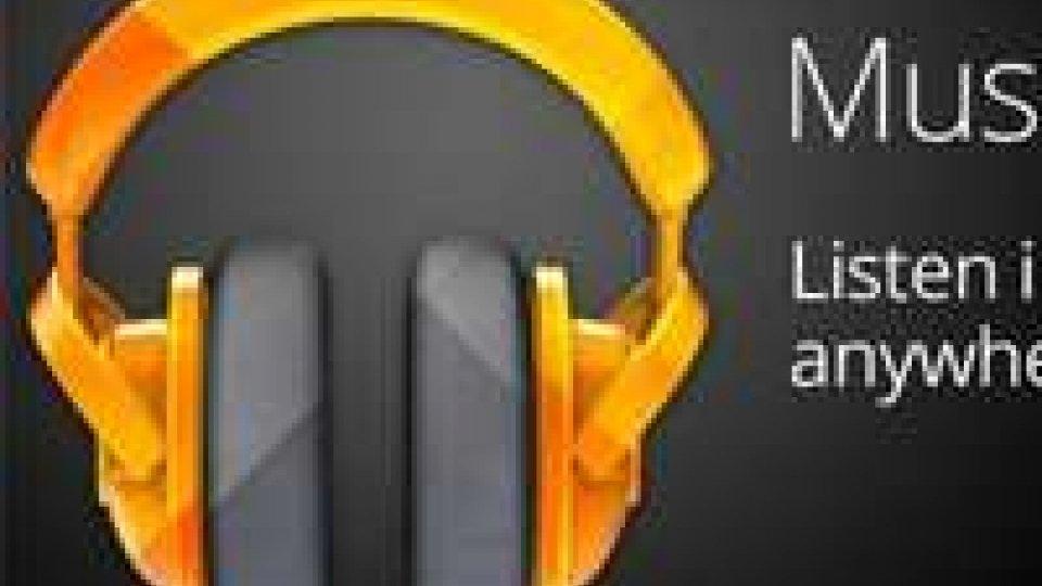 Google, arriva in Italia servizio musica in streaming