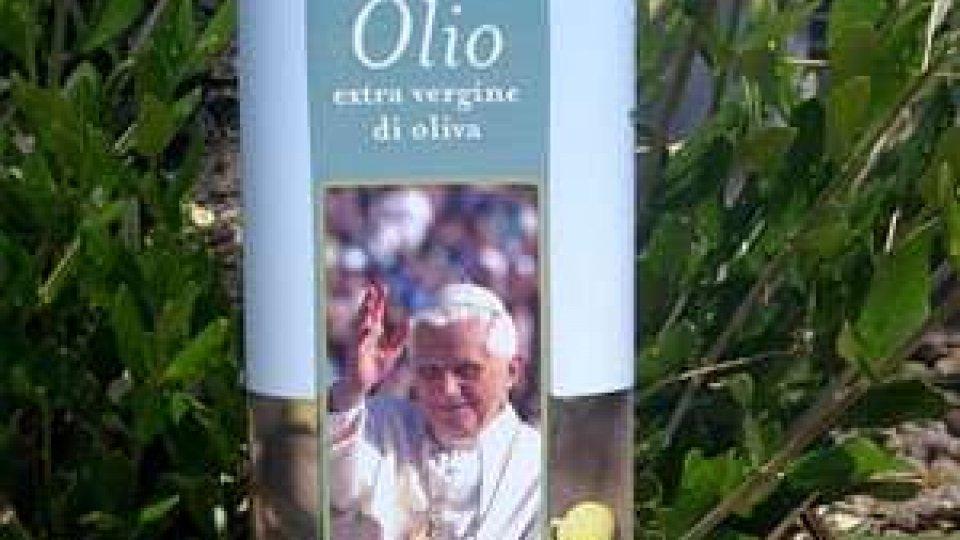 L'olio Terra di San Marino dedicato a Benedetto XVI