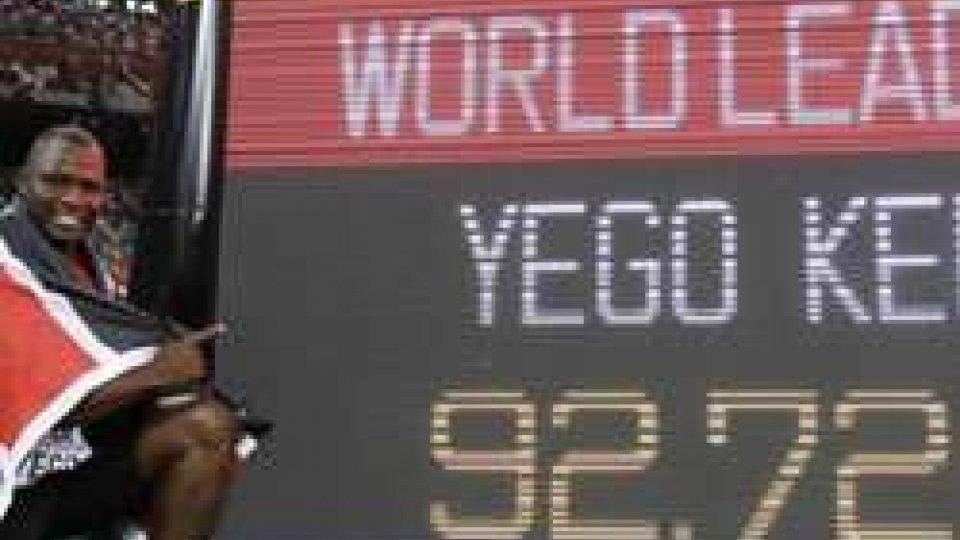Mondiali atletica, Eugenio Rossi in gara venerdì mattina. Giavellotto, storico oro per il Kenya