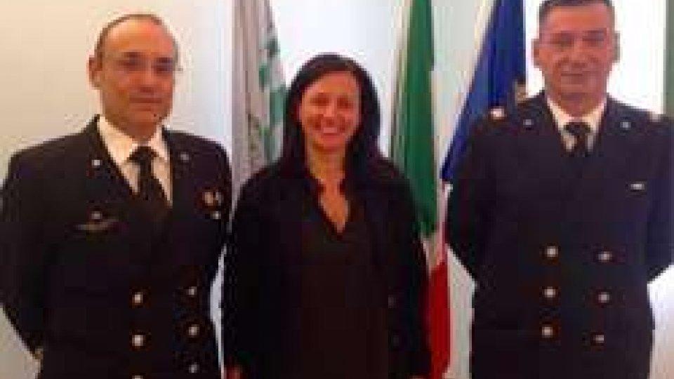 Il Sindaco Tosi ha ricevuto il nuovo Comandante del Compartimento Capitaneria di Porto Rimini