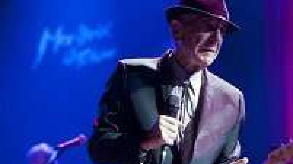 Addio a Leonard Cohen