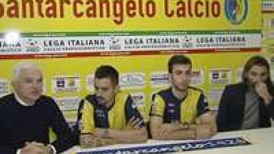 Il Santarcangelo presenta i due nuovi acquistiIl Santarcangelo presenta i due nuovi acquisti