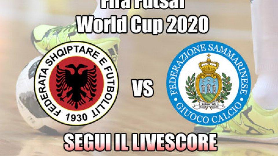 Futsal, Albania-San Marino: 5-0  FINALE
