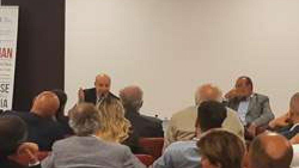 Alan Friedman e il Dg Carlo Romeo