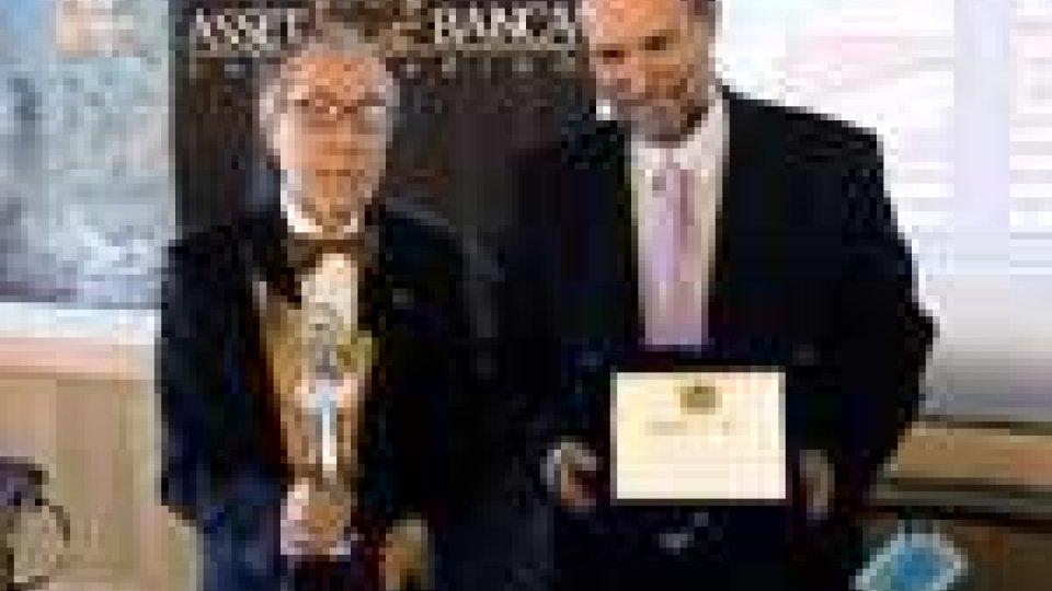 San Marino - Biagio Bossone e Luca Cordero di Montezemolo insigniti del premio Guglielmo Marconi