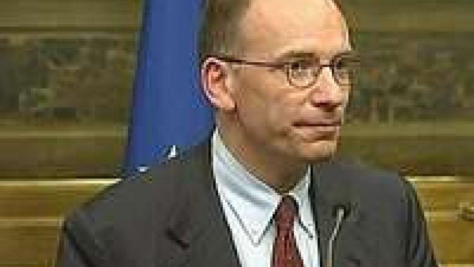 Governo, Letta: proseguono i contatti per formare il nuovo esecutivo