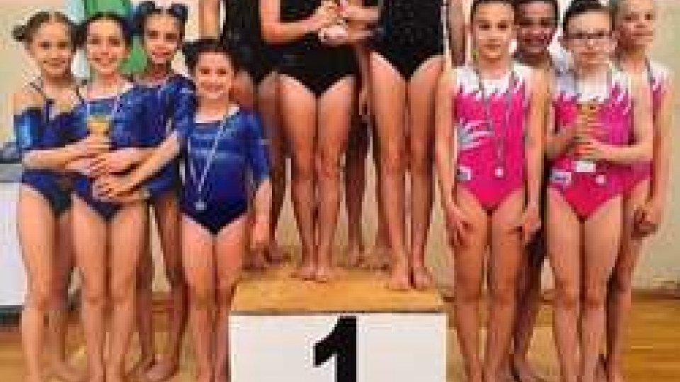 Nuove conferme per l'accademia della ginnastica San Marino A.S.D.