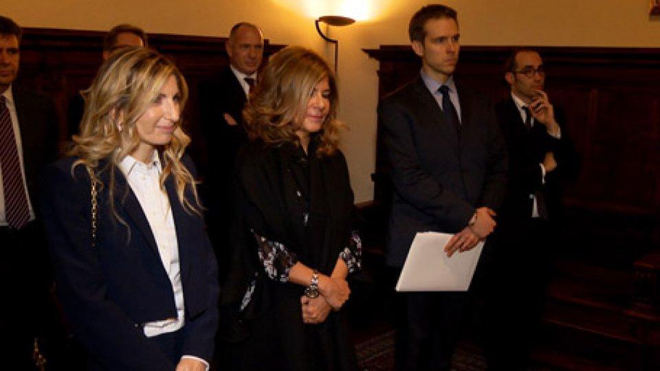 Udienza a PalazzoAnis: Emma Marcegaglia incontra le istituzioni, un paese con una grande energia