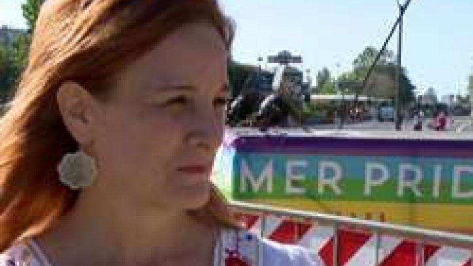 Karen PruccoliA Rimini il Summer Pride per i diritti LGBT