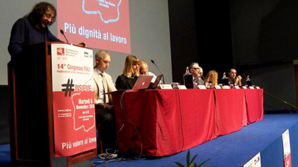 lavori congresso FuliCsdl: eletto il nuovo direttivo della Federazione Industria