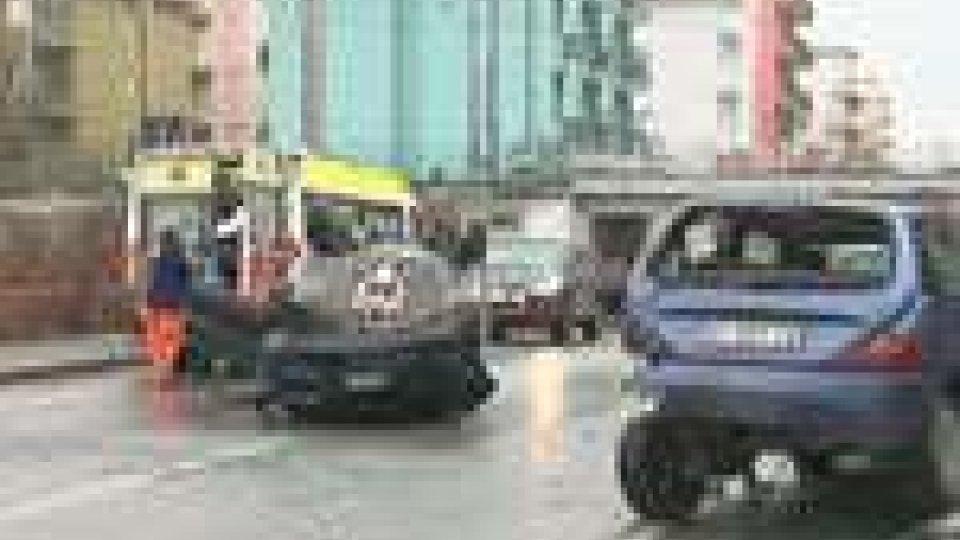 Incidente in via Siracusa a Rimini