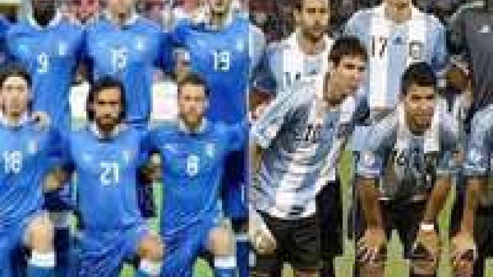 Calcio: Italia-Argentina; curiosità in cifre