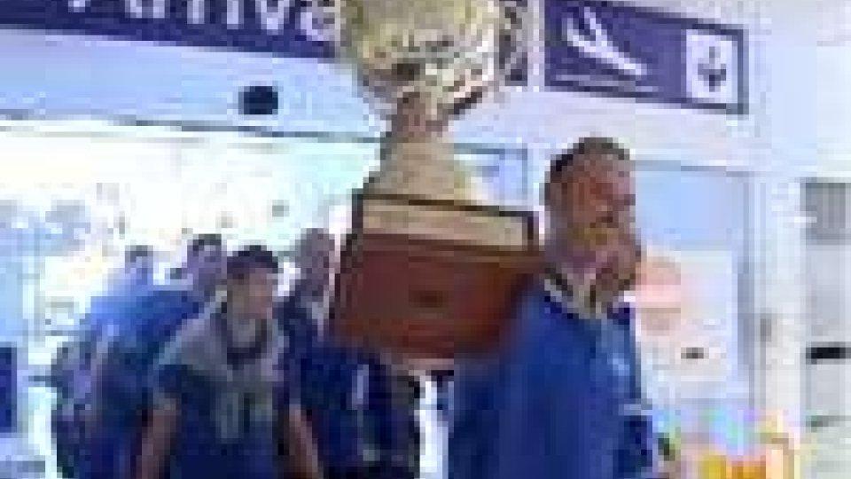 Rientrati i campioni d'Europa della T&A San Marino