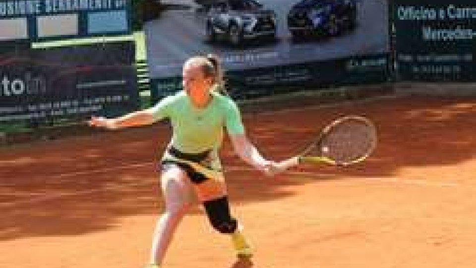 La tennista Tcherkes Zade