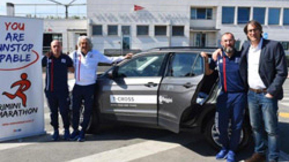Reggini scende in strada alla Rimini Marathon con la Nuova Volkswagen T Cross, official car dell'evento