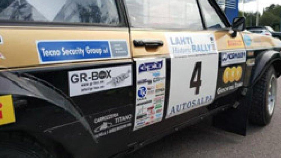 Lathi Rally: brutto incidente per Calzolari e Stefanelli