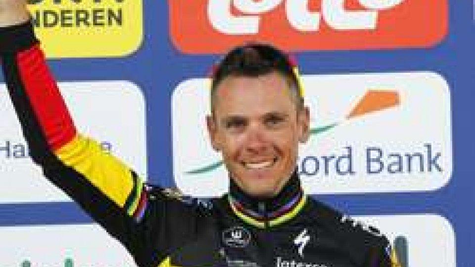 Philippe GilbertCiclismo, Giro delle Fiandre 2017: vince Gilbert