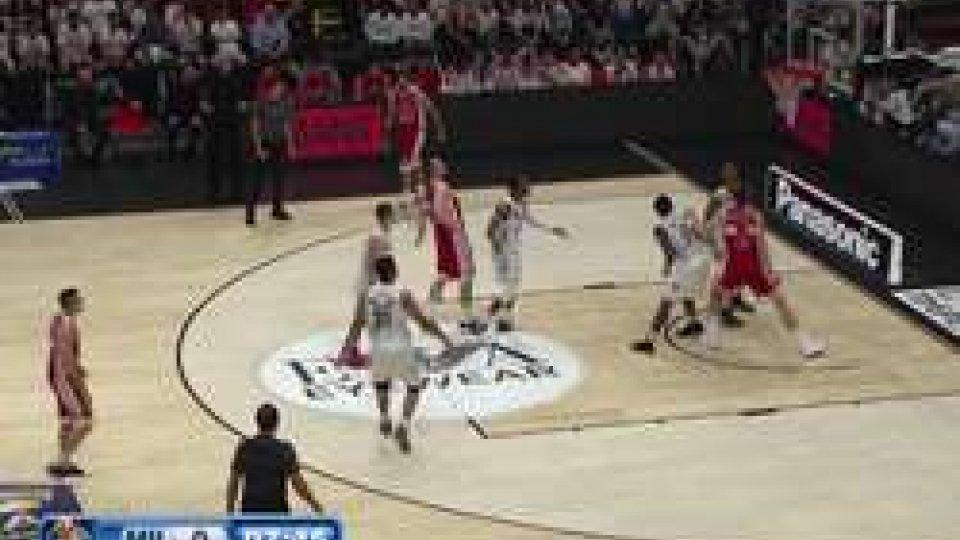 Basket serie A: la dolomiti Energia Trento si impone a Milano