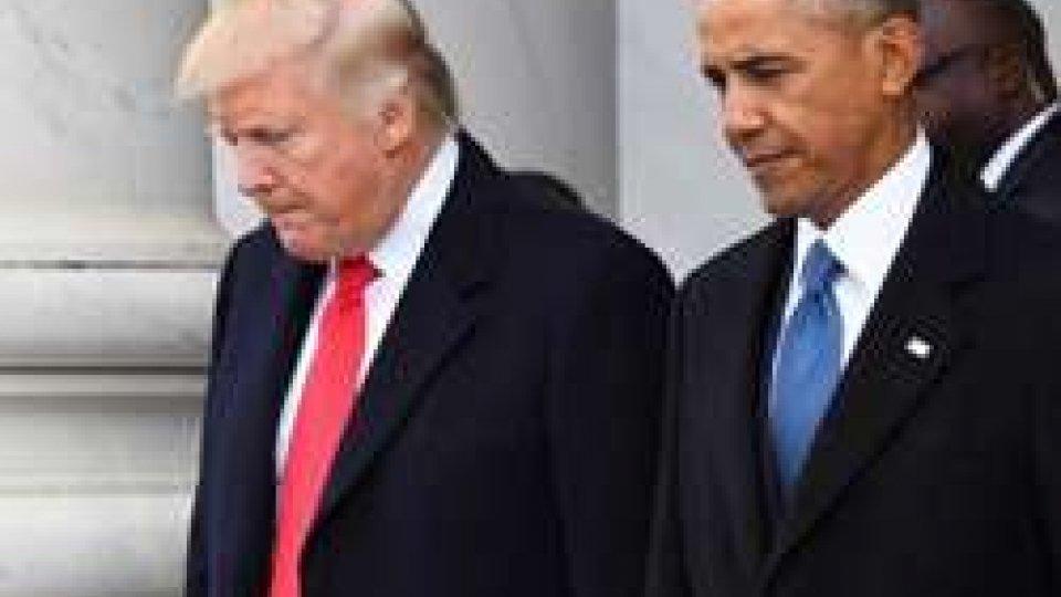 Donald Trump e Obama