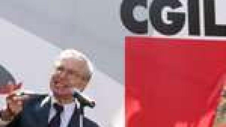 Guglielmo Epifani lascia la guida della Cgil. Omaggio della CSdL