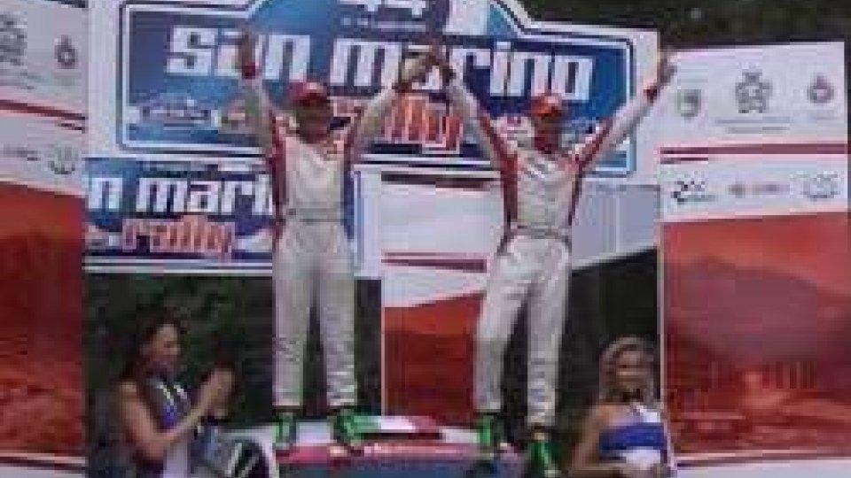 A Giandomenico Basso la 44° Edizione del Rally di San MarinoA Giandomenico Basso la 44° Edizione del Rally di San Marino