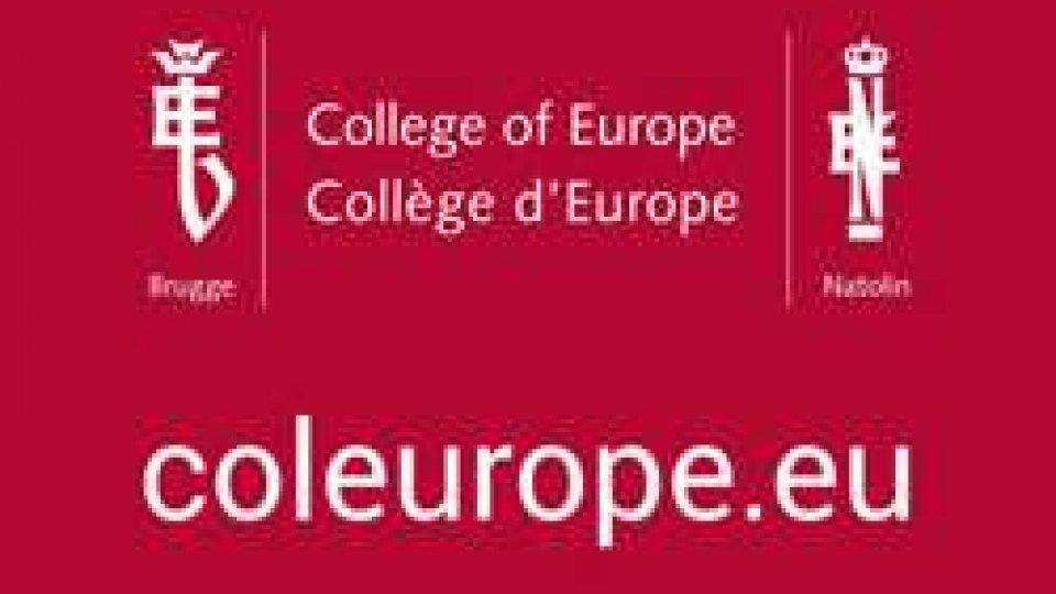 Assegnata la borsa di studio per l'accesso al Collegio d'Europa di Bruges