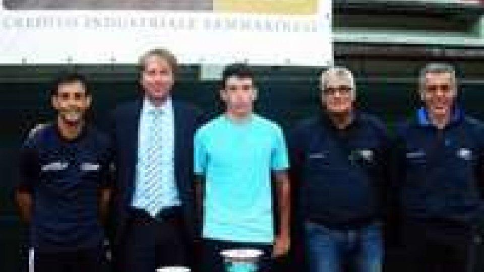 Alessandro Rondinelli si aggiudica l'edizione 2014 dell'Open sammarinese