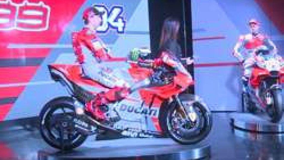 """Motomondiale 2018: La Ducati si presenta """" per il mondiale ci siamo anche noi"""""""