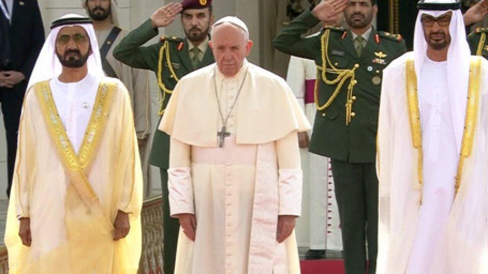 La visita del Papa negli Emirati ArabiIl papa negli Emirati: firmato il documento congiunto sulla fraternità umana
