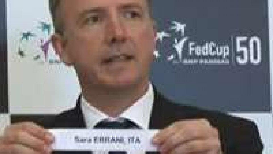 Fed Cup: si parte con Errani-Hampton