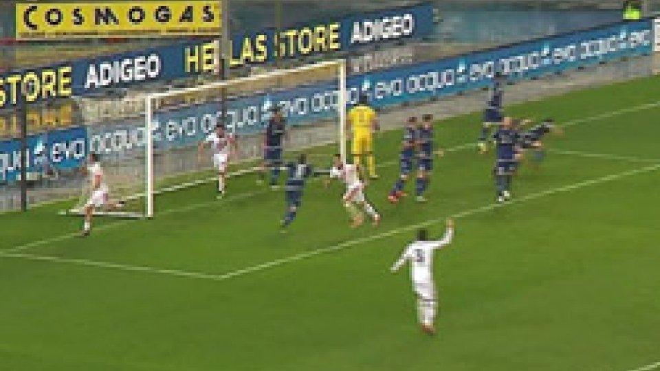 Verona-Cremonese 1-1