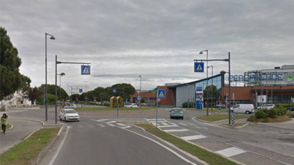 Il luogo dell'incidente. Foto @Google