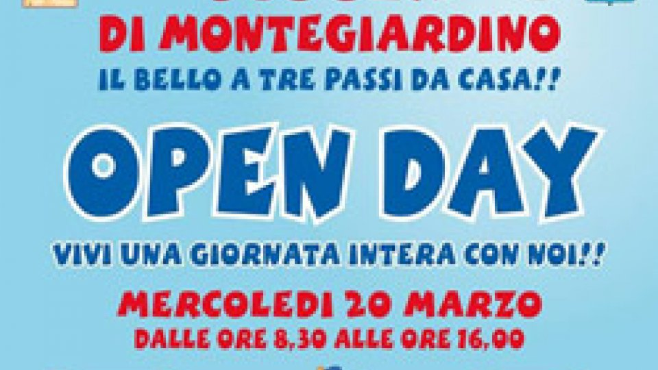 """Open Day Scuola di Montegiardino: """"Il bello a tre passi da casa"""". Mercoledì 20 marzo dalle 8:30 alle 16:00"""