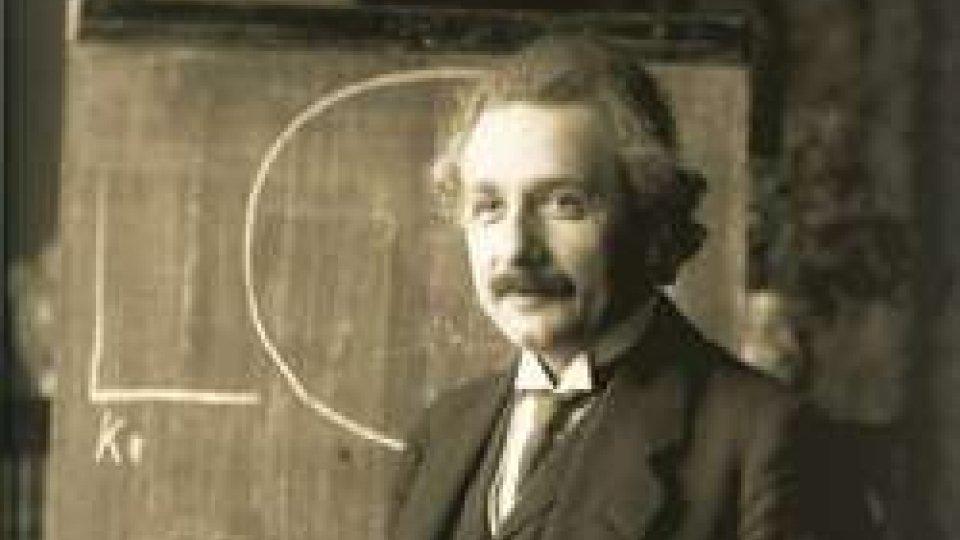 Albert Einstein nel 1921