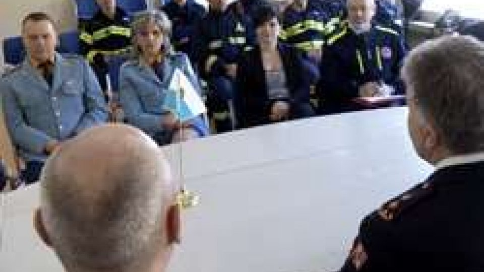 sul Titano i vertici del Corpo dei Vigili del Fuoco della Repubblica CecaProtezione Civile: sul Titano i vertici del Corpo dei Vigili del Fuoco della Repubblica Ceca