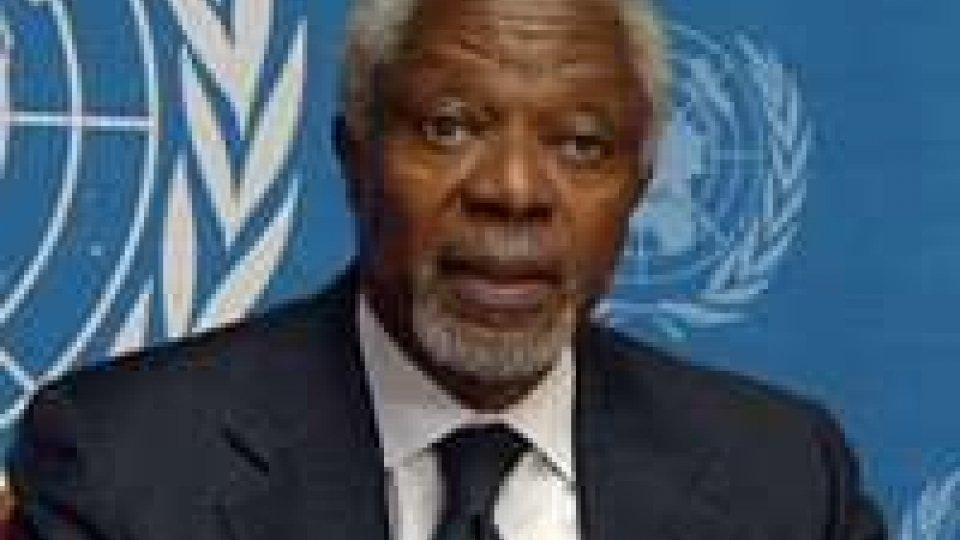 Siria, fanno discutere le dimissioni di Kofi Annan