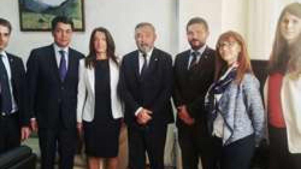 Astana: delegazione sammarinese ha incontrato Vice Ministro Cultura e Turismo del Kazakistan