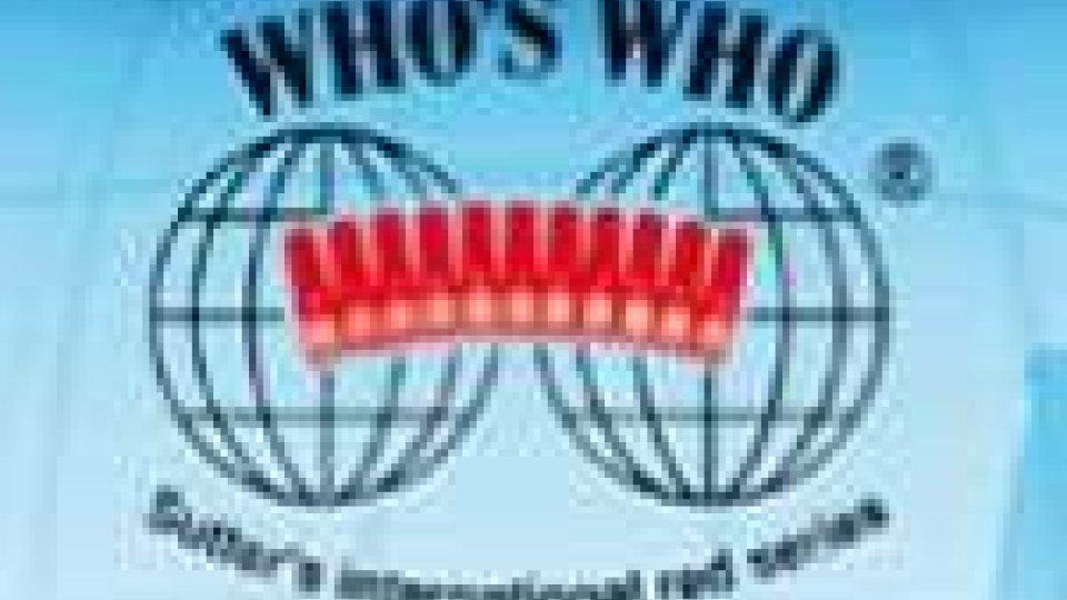 """San Marino - Rinaldo Ripa è stato inserito nella pubblicazione """"Who's Who"""" 2011"""