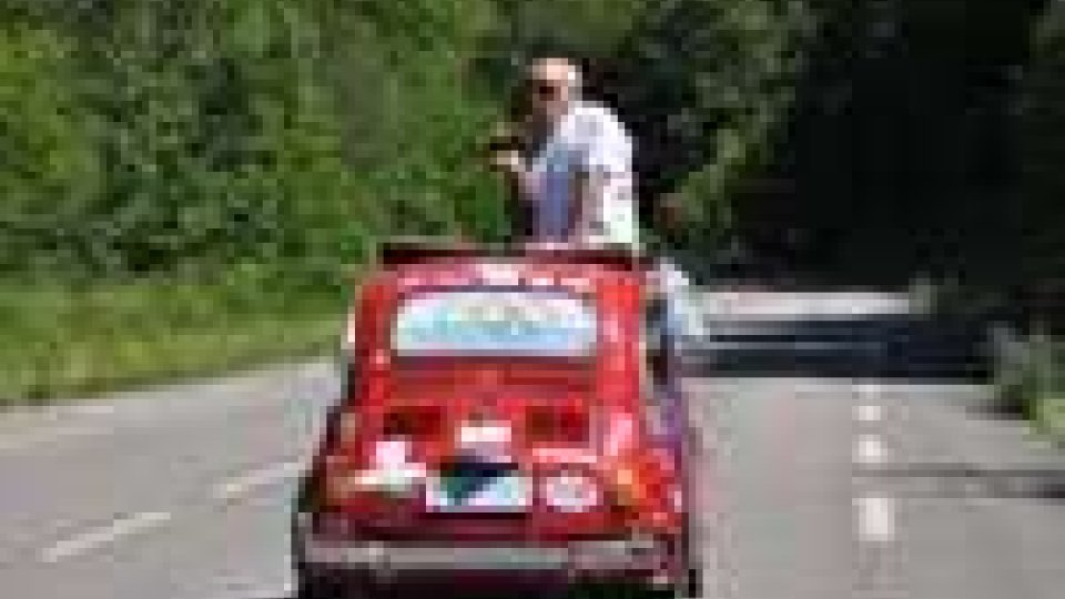San Marino - 500Marathon, le quattro 500 hanno oltrepassato i Pirenei