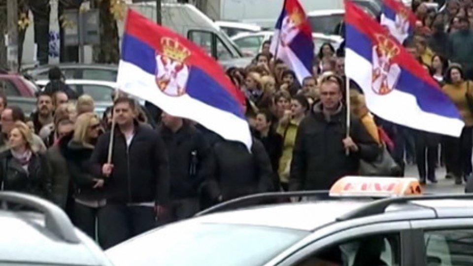 Kosovo: alta tensione tra Belgrado e Pristina