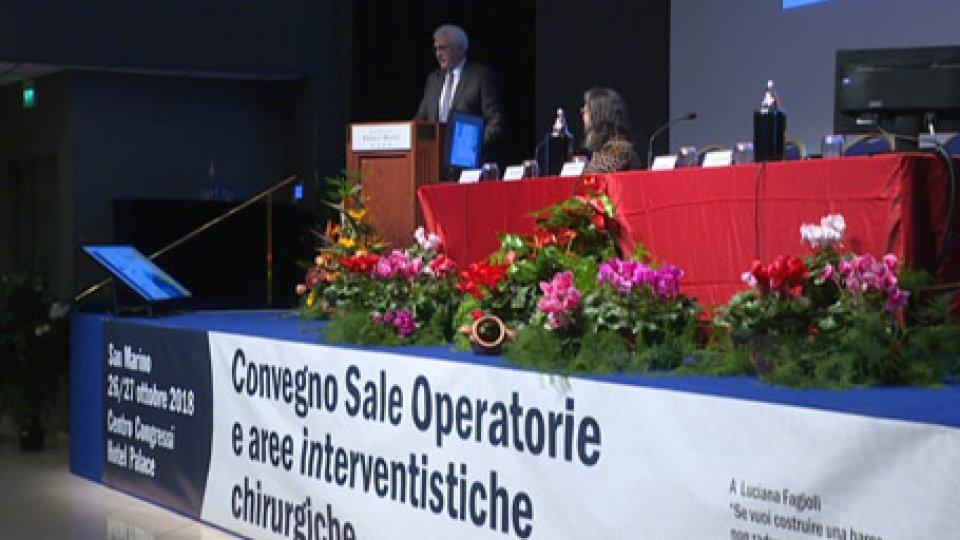 La conferenza al Palace Hotel di San Marino