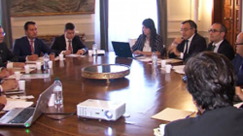 La delegazione a San Marino