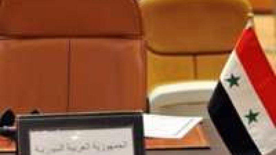 Siria: Lega Araba si rivolge all'Onu