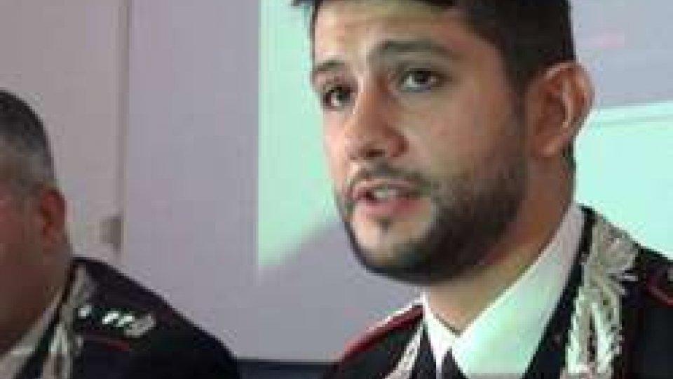 Il Capitano dei Carabinieri di Riccione Marco Califano
